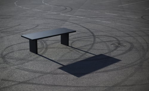 Tables by jot.jot seen at Private Residence - Black Mamba