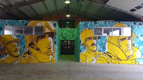 Colossus Studio - Murals and Interior Design