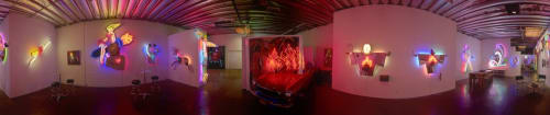 Art & Wall Decor by Lili Lakich seen at Los Angeles, Los Angeles - Neon sculptures