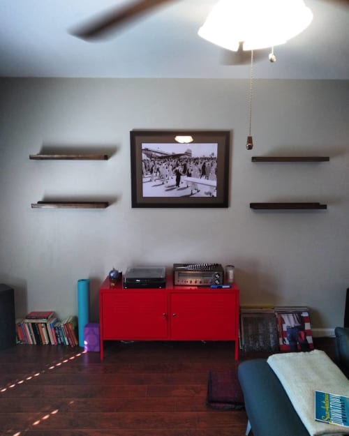 Furniture by Dunnswood seen at Private Residence, San Antonio - Floating Shelves