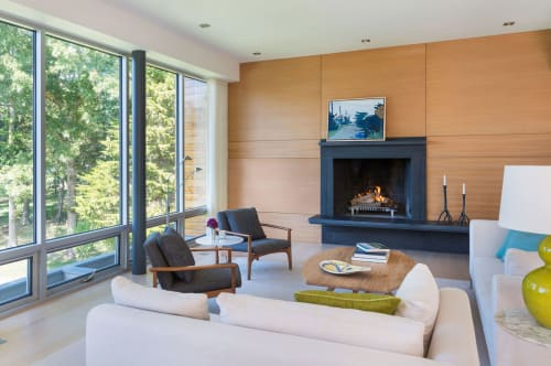 Interior Design by Ruhl Studio Architects at Private Residence, Westport - Architectural Design