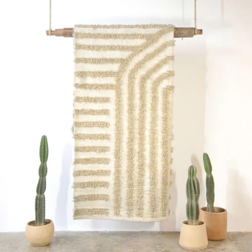 Rugs by Meso Goods seen at Creator's Studio, Guatemala City - Cruzadas Wool Rug