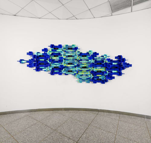 Macrame Wall Hanging by Armita Raafat seen at Time Equities Inc., New York - Untitled
