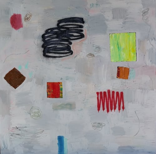 Paintings by Max Presneill seen at Private Residence   Los Angeles, Los Angeles - MiT#62