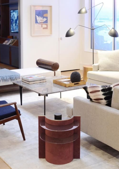 Tables by Robert Sukrachand seen at Private Residence, Brooklyn - Torus Side Table