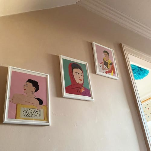 Art & Wall Decor by Karina Mansfield seen at Private Residence, Ben Rhydding - Illustration Prints
