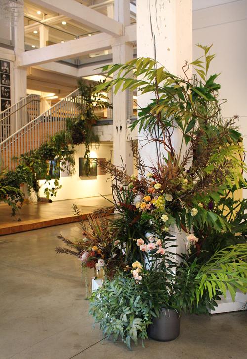 Floral Arrangements by Colibri seen at Wieden & Kennedy, Portland - Installation at Wieden+Kennedy