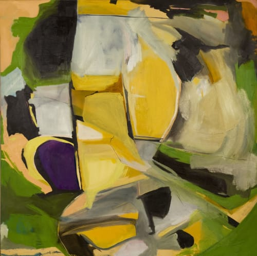 Paintings by Kandra Scheffler seen at Private Residence, Seattle - Mother's Laborious Acre