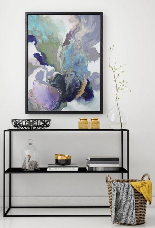 Paintings by AttikoArt seen at London, London - Ebony Swirl