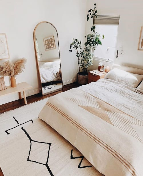 Linens & Bedding by Joinery seen at Private Residence, Los Angeles - Odara blanket