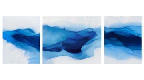 Photography by Jonathan Smith seen at Private Residence, New York - Glacier Triptych