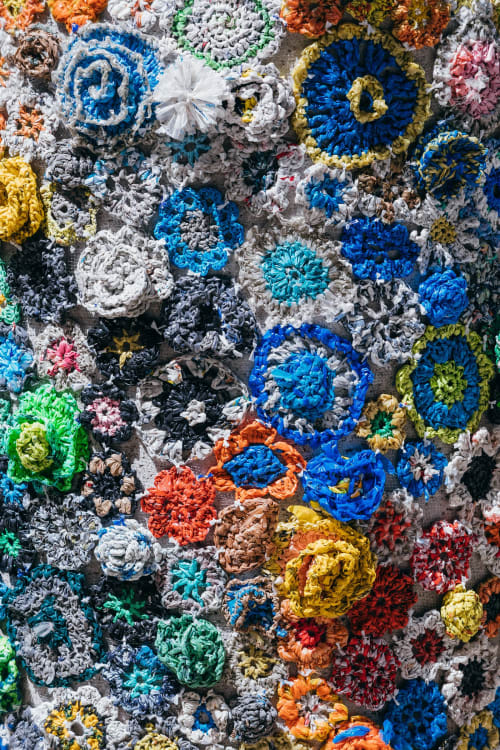 Public Sculptures by Isabelle Garbani seen at New York, New York - Les Fleurs de Mal
