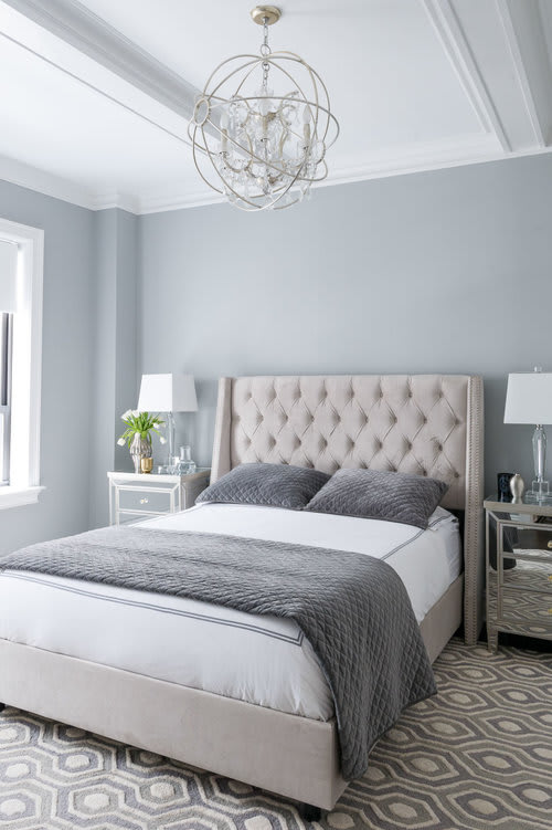 Interior Design by Matthew Cane Designs at Private Residence, New York - Regal Chic and Astronomy Nursery