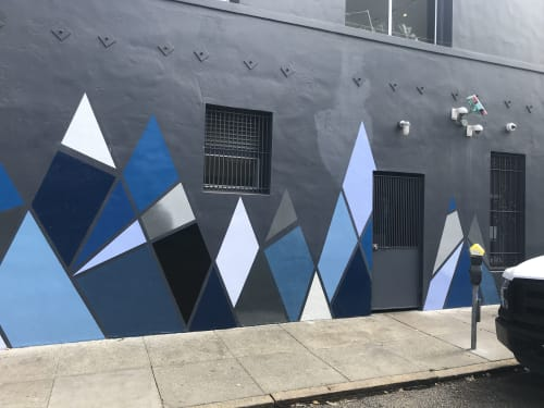 Street Murals by Lady Henze Art seen at 925 Larkin St, San Francisco - Jane on Larkin Mural