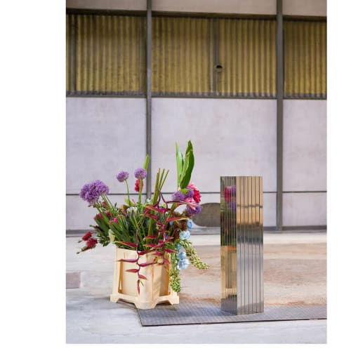 Vases & Vessels by TABLEAU seen at Copenhagen, Copenhagen - Polished Steel Vase