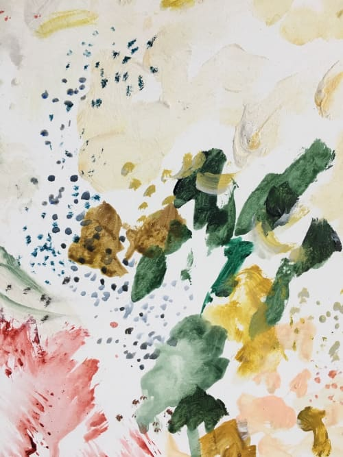 Paintings by Emily Tingey seen at Private Residence, Ann Arbor - Arda