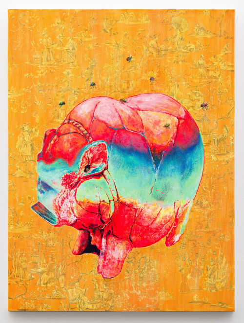 Art Curation by paintingbysusu seen at Pittsburgh, Pennsylvania, Pittsburgh - Piggy Bank