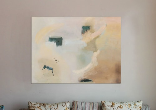 Paintings by Cecilia Arrospide at Private Residence, Miraflores, Comas, Comas - MOONLIGHT