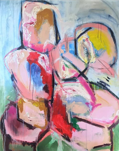 Paintings by Elisa Gomez Art seen at Private Residence, Denver - Uncovered III