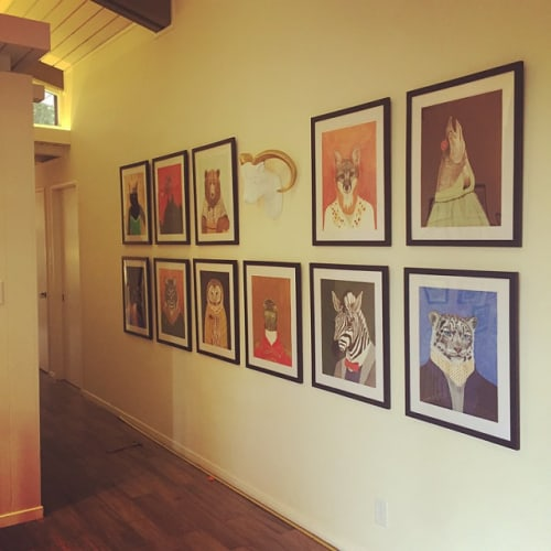 Art & Wall Decor by Jamie L. Luoto seen at Private Residence, Lafayette - Animal Corral
