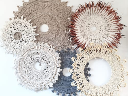 PUURR handcrafts - Macrame Wall Hanging and Art