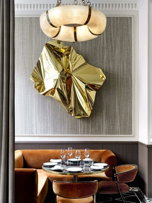Interior Design by THURSTAN seen at Le Comptoir Robuchon, London - james waterworth