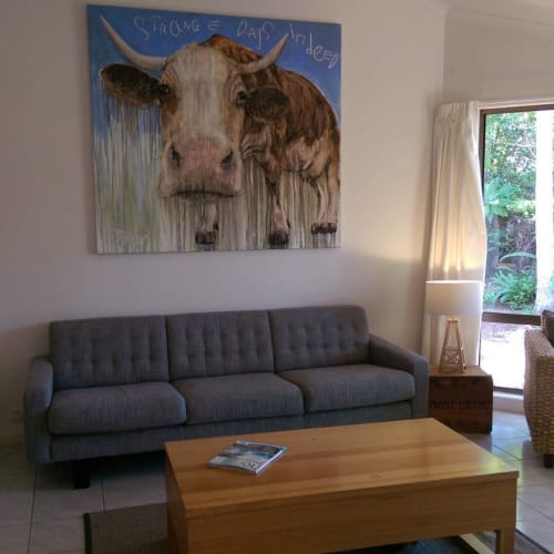 Paintings by Christian Palmer seen at Private Residence, Byron Bay - Painting