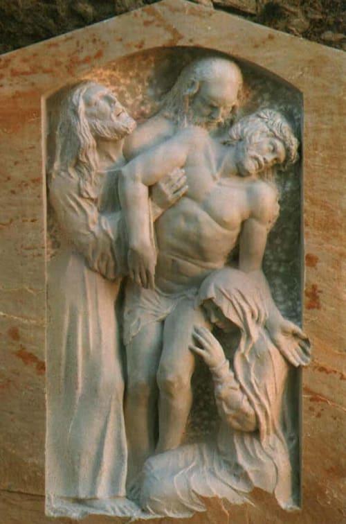 Sculptures by John Fisher Sculptures seen at Querceta, Querceta - Pieta