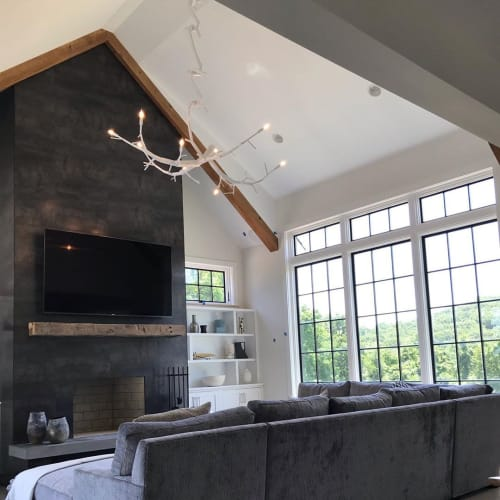 Chandeliers by CP Lighting seen at Private Residence - newGROWTH