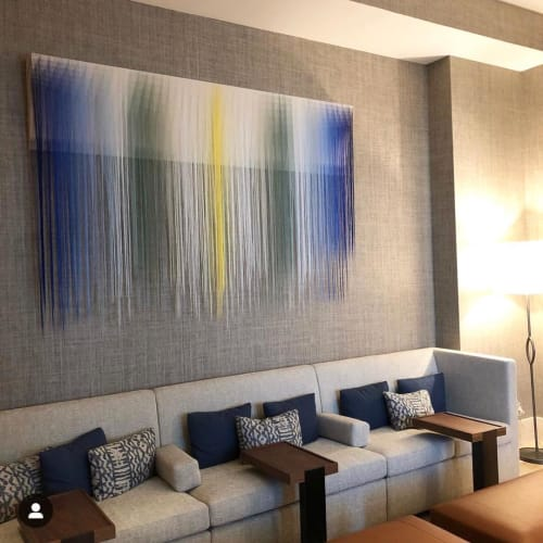 Wall Hangings by Nike Schroeder Studio seen at Four Seasons Resort Maui at Wailea, Wailea-Makena - Custom Fiber Art