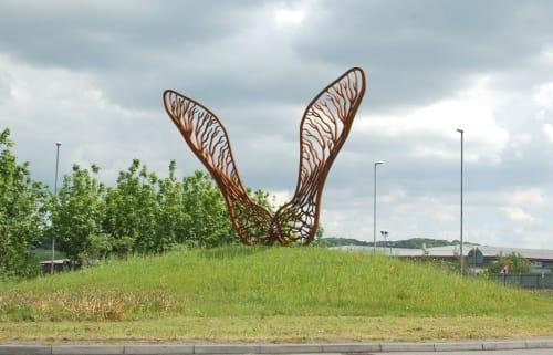 Public Sculptures by Andrew McKeown Sculptor seen at Leeds City Region Enterprise Partnership, Leeds - Seeds of Enterprise