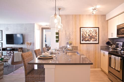 Interior Design by ANA Interiors Ltd seen at Copperfield Park III, Calgary - Interior Design