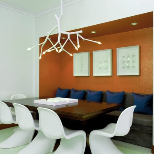 Chandeliers by CP Lighting seen at Private Residence - newGROWTH Chandelier