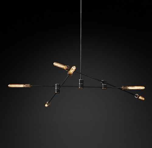 Chandeliers by Restoration Hardware seen at Simply Modern Living, Grand Rapids - Kinetic Chandelier