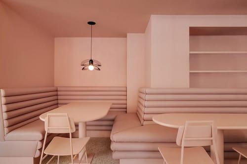 Chairs by Appareil Atelier seen at Pastel Rita, Montréal - Floe