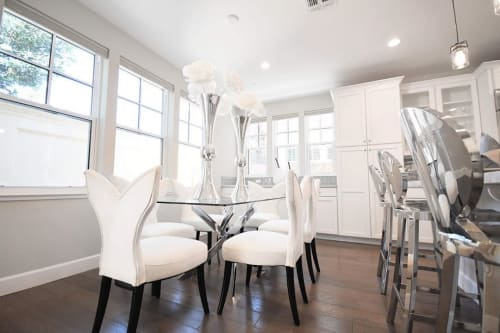 Chairs by Meridian Furniture seen at Private Residence, Santa Clara - Dining Chairs
