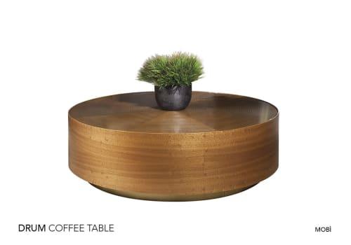 Tables by Mobi seen at Ovaakça Eğitim, 16370 Osmangazi/Bursa, Turkey - Drum Coffee Table