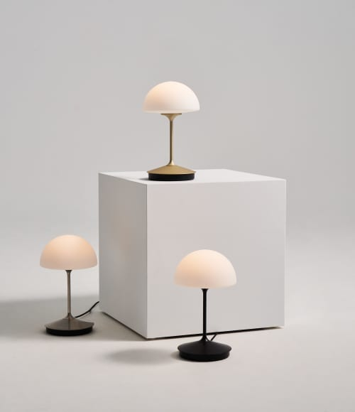 Lamps by SEED Design USA seen at Private Residence, Renton - PENSEE Table Lamp