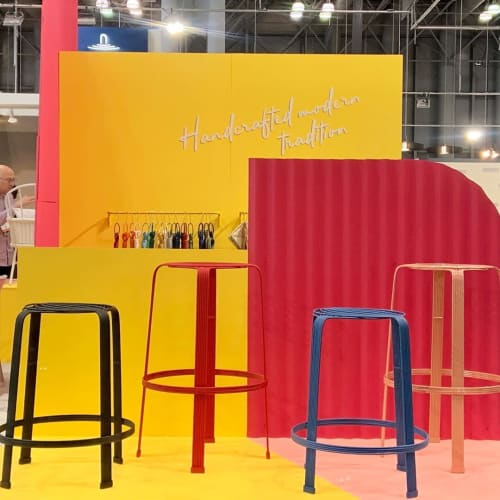 Chairs by Mexa seen at Jacob K. Javits Convention Center, NYC, New York - Fil
