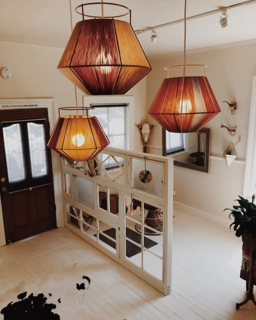 Pendants by Werajane Design seen at Private Residence, Bodega - Merina