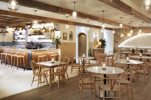 Interior Design by Story Design Collective seen at Taverna Restaurant, Dubai - Taverna