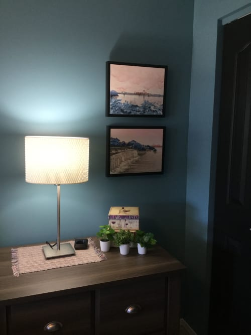 Paintings by Maurice Dionne FINEART seen at Private Residence, Edmonton - Alexandra and Rideau Falls