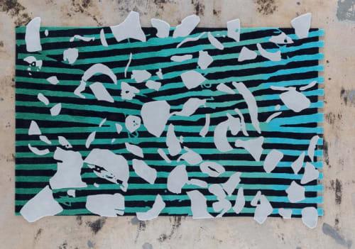 Rugs by Odabashian (official) seen at Nina Johnson, Miami - Emmett Moore at Nina Johnson Gallery