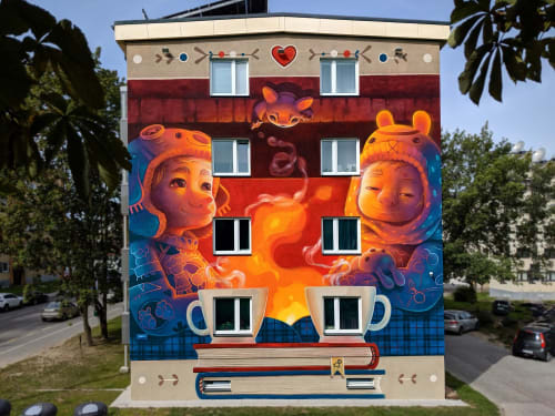 Animalitoland - Street Murals and Murals