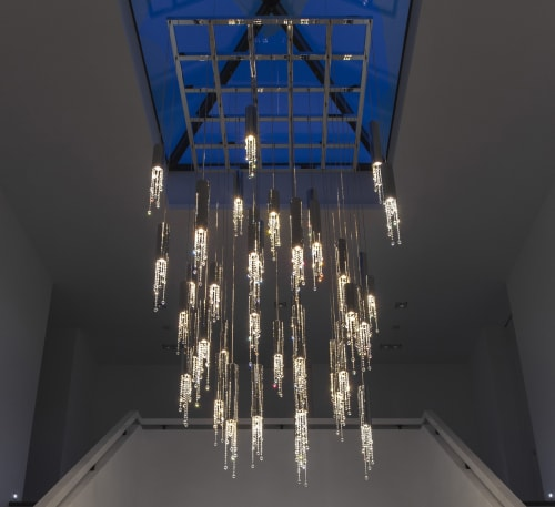 Pendants by ILFARI seen at Private Residence, Beek en Donk - Sexy Crystals lighting