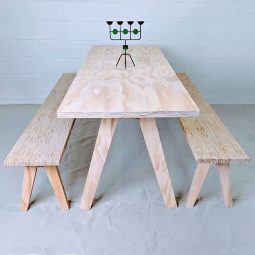 Tables by Snogaliden seen at Private Residence, Ferndale - Nordic Kitchen table set