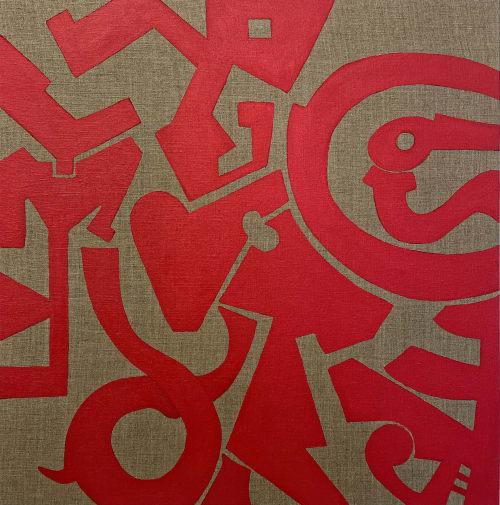 Paintings by Marco Domeniconi Studio seen at Creator's Studio, New York - City Serenade
