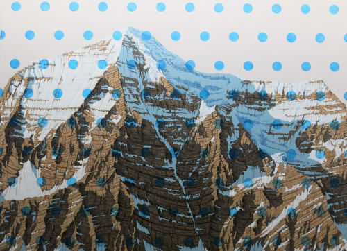 Paintings by David Pirrie - Mt Robson, Canadian Rockies. Private commission.