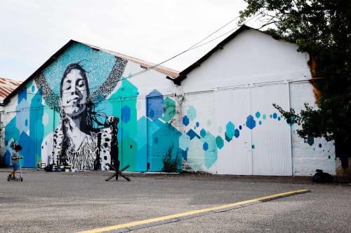 yann chatelin-POZE- - Murals and Art