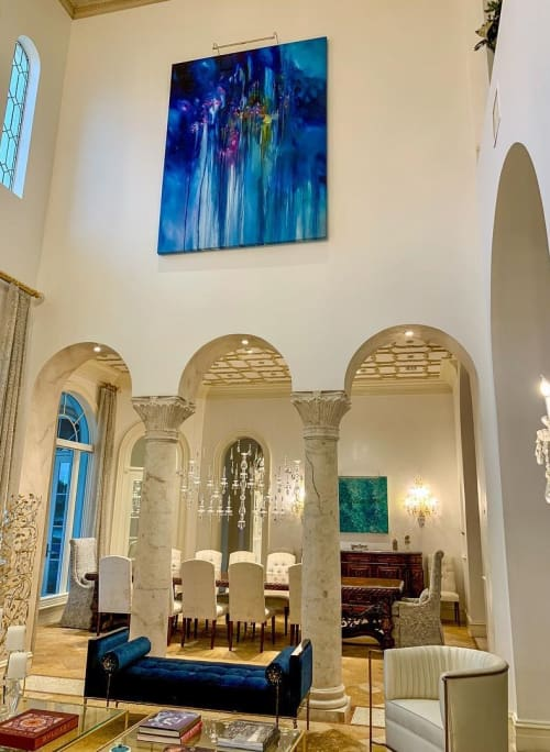 Paintings by Melissa McCracken seen at Private Residence, Boca Raton - Choruses and Refrains